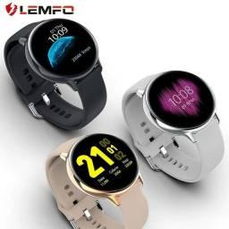 Relógio Smartwatch Lemfo S20 Preto ou Rosa Novo e Original