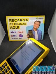 Máquina de cartão PRO 2 que imprime comprovante Pag bank