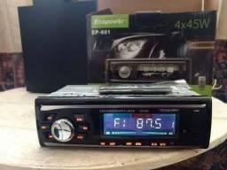 Promoção Som Automotivo Ecopower Bluetooth com Controle Remoto, Novo, Entregamos<br><br>
