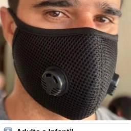 Máscaras esportivas para academia teladas