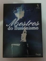 Box Mestres dos Ilusionismo 6 Dvds