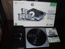 DJ Hero 2 xbox 360 (Jogo + Mesa DJ)