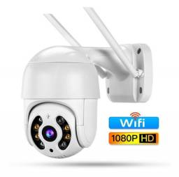 R$ 200 Câmeran Segurança Ip Prova D'água Infravermelho Externa Wifi Hd