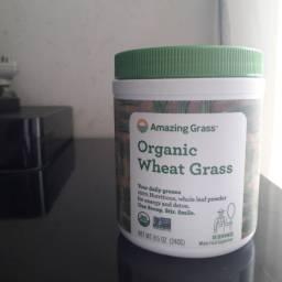 Complemento grama de trigo organico