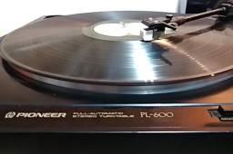 Toca Discos Pioneer PL-600 - funcionando