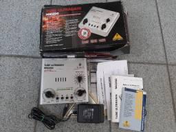 Amplificador Tube Ultragain mic200 Caixa e manuais