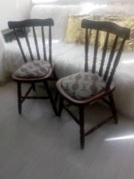 Cadeiras estilo country