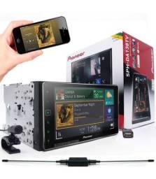 Dvd Player Pioneer 2 Din Sph-da138tv Tv/ Bt/ Usb/ Aux