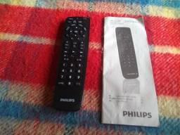 Controle Remoto Philips universal com Manual lista de marcas e códigos para configurar