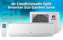 Ar condicionado Gree Inverter 12000 btus quente frio 220v