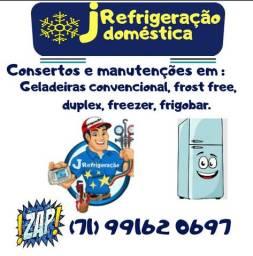 Consertos em geladeiras e freezer