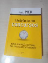 Kit 2 Livros Inteligência para Concursos e Aprendendo Inteligência com o Prof. Pier