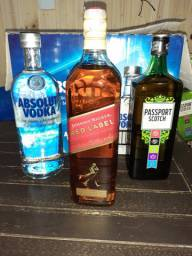 Red Label 65,00 / Absolut 55,00 / Passaport 45,00