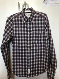 Camisa xadrex de tecido