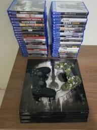 PlayStation 4 pro 4k valor R$ 3.500