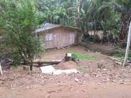 Chacara com peq casa rio Açungui - Guaraqueçaba