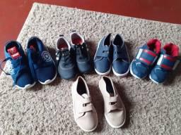 Vendo todos os sapatos  número 26 a 27