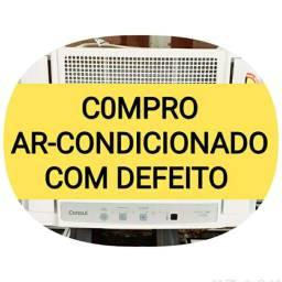 C0MPRO AR-CONDICIONADO COM DEFEITO VOU BUSCAR i