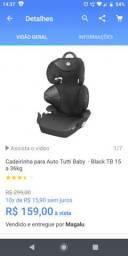 Cadeirinha para auto bebê