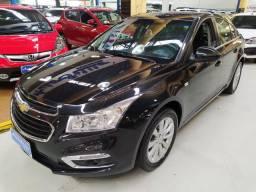 Chevrolet Cruze LT 1.8 Flex Preto 2015 (Automático + Couro)