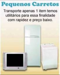 Móveis e eletrodomésticos (Carreto)