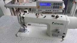Maquina de costura reta eletronica