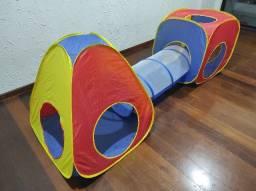 Barraca Infantil Toca Divertida 3x1 / Semi Novo