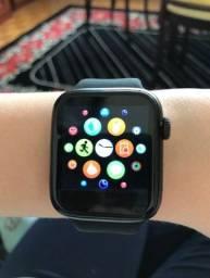 Relógio Inteligente-Chamadas-Notificações Whatts e Face-Troca Pulseiras-Novo