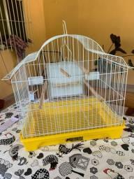 Gaiola para piriquito / papagaio