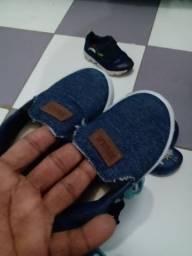 Lote calçados menino urgente