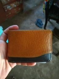 Vendo carteira de couro legítimo
