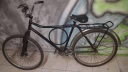 Bicicleta Barra forte c/ freio a disco e torpedo