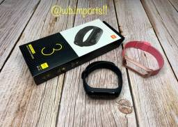 Xiaomi Mi Band 3. ( + 1 pulseira de aço )