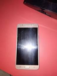 Samsung galax j7 prime com defeito