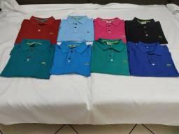 Kit com 20 Camisas Pólo Masculino do P ao GG