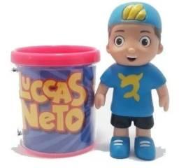 Vendo caneca + boneco Lucas neto