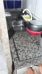 Balcão com espaço pra fogão cooktop