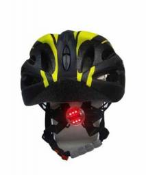 Capacete Ciclismo Bike Absolute Wt012 Led Pisca Neon