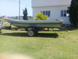 Barco 5 mt  com carreta