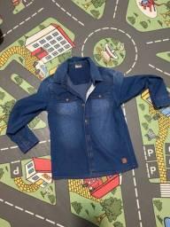 Camisa Jeans tamanho 8