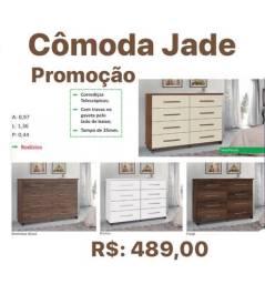Cômoda Jade 8 gavetas entrego e monto grátis