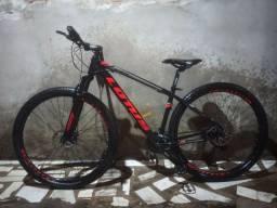 Bicicleta Cairu Aro 29 Lotus/cxr F. Mec Preto/Vermelho