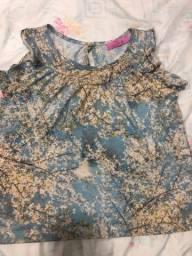Blusa Toli infantil, tamanho 8 anos