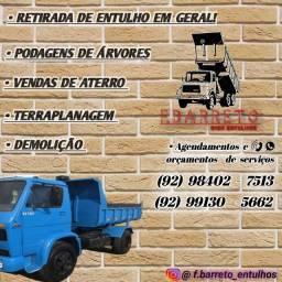 Retiradas de ENTULHOS COLETA DE ENTULHO CAÇAMBA DE ENTULHO
