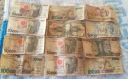 Moedas e dinheiro para colecionadores.