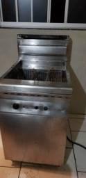 Fritadeira 60l, a gás,  agua e óleo