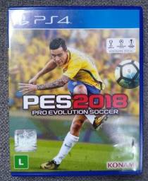 Jogo original PS4 PES 2018