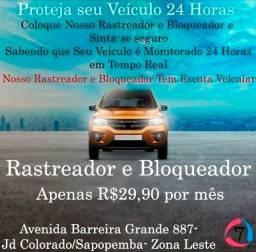 Rastreador - Bloqueador - Escuta Veicular - Para Carros, Vans e Ônibus