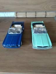 miniaturas mustang e moto ducatt  1000 cc