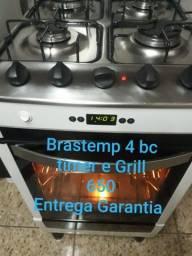 Fogao brastemp grill e timer Entrego